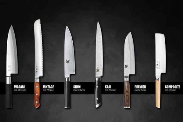Attrezzature professionali per la cucina bar coltelli