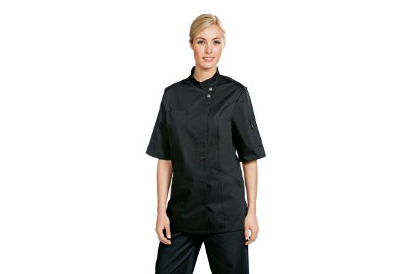 Abbigliamento professionale bragard cucina giacche da cucina verana giacca nera - Abbigliamento da cucina ...