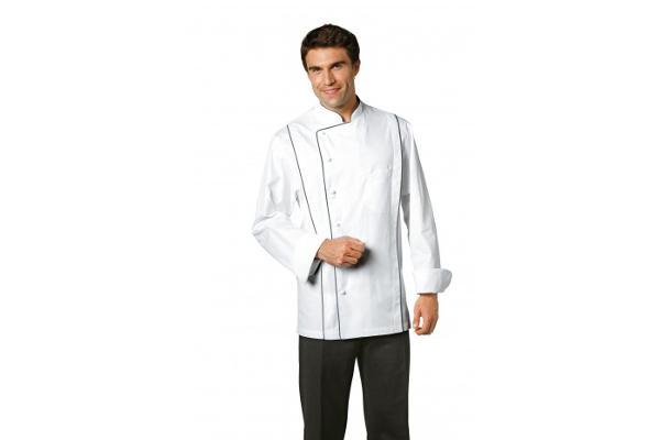 Abbigliamento professionale bragard cucina giacche da cucina peter giacca bianco - Abbigliamento da cucina ...