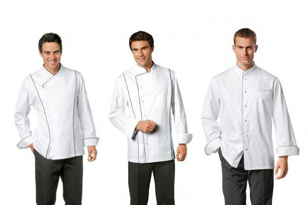 Abbigliamento professionale bragard cucina giacche da cucina grand chef f giacca bianca - Abbigliamento da cucina ...