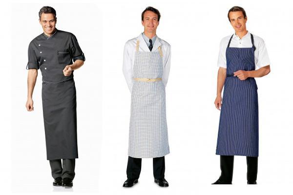 Abbigliamento professionale bragard cucina grembiuli da cucina omera grembiule grigio - Normativa abbigliamento cucina ...