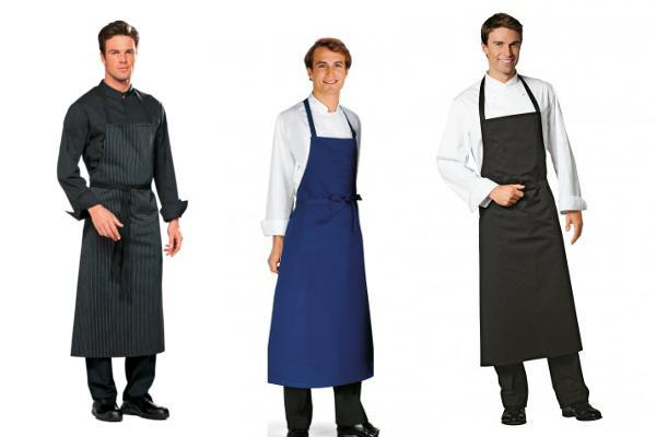Abbigliamento professionale bragard cucina grembiuli da cucina omera grembiule grigio - Grembiuli da cucina ...