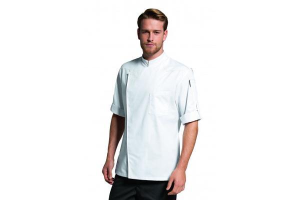 Abbigliamento professionale bragard cucina giacche da cucina benton giacca bianco - Abbigliamento da cucina ...