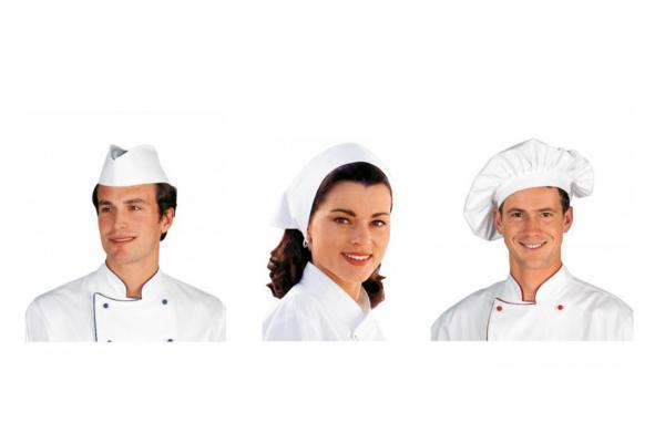 Abbigliamento professionale bragard cucina cappelli e